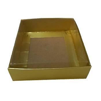 Gold  Sabun Kutusu  8 x 8 x3 cm 50 adet