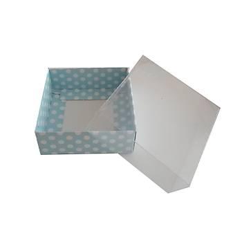 Kraft   Karton Kutu  20x 20 x5 cm  1adet
