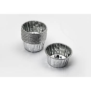 Gümüş Pet Muffin Kapsul 20 Adet