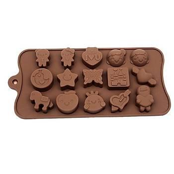 Baby Shower Çikolata Kalýbý