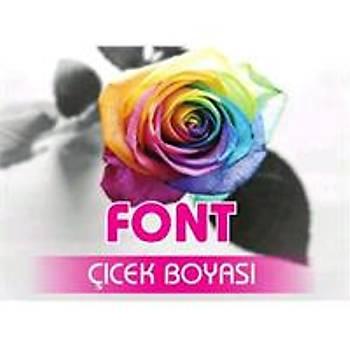 Font Pembe Toz Çiçek Boyasý 7 gr.