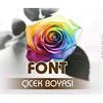 Font Kahverengi Toz Çiçek Boyasý 7 gr.