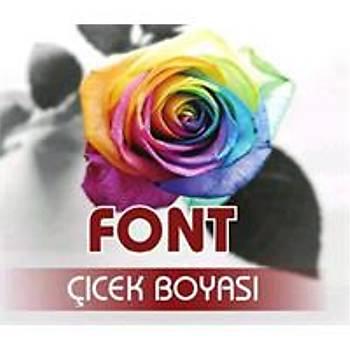 Font Bordo Toz Çiçek Boyasý 7 gr.