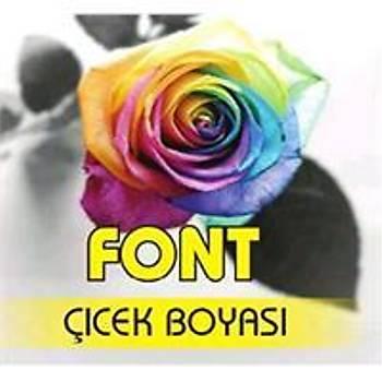 Font Sarý Toz Çiçek Boyasý 7 gr.