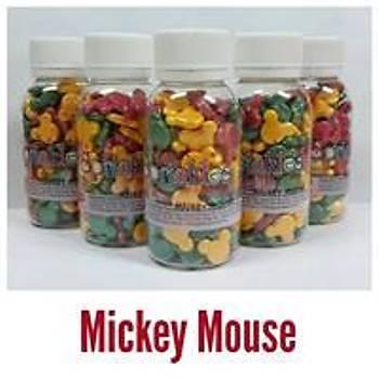 Mickey Mouse Sarý Pembe Sprinkles 40 gr.