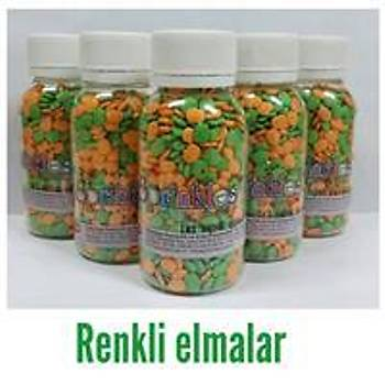 Renkli Ýki Elma Sprinkles 40 gr.