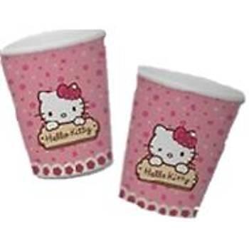 Hello Kitty Flower  Bardak 8 li