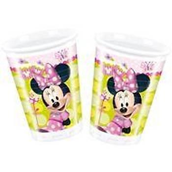 Minnie Çiçek Bahçesi  Bardak 8 li