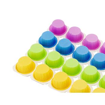 Renkli Muffin Kapsulu 24 lü