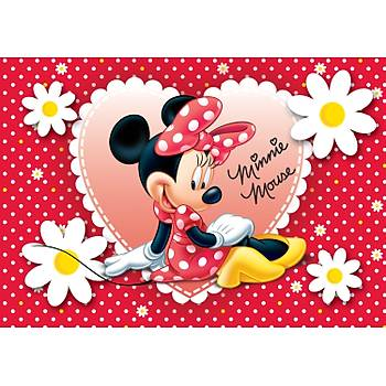 Minnie Mouse Gofret Plaka