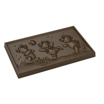 Teddy Bear Tablet Çikolata Kalýbý