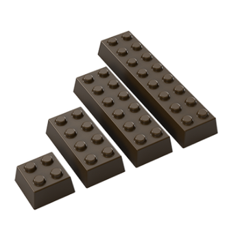 Lego Çikolata Kalýbý Polikarbon