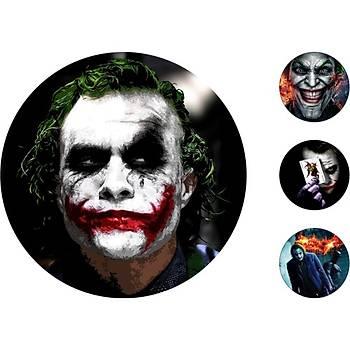Joker Pasta Kurabiye Üstü Resim