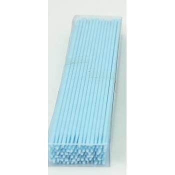 Mavi Lolipop Marshmallow Cake Pop Çubuðu 10 adet