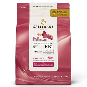 Callebaut Ruby 2,5 kg