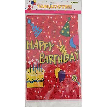 Happy Birthday Karnaval Masa Örtüsü 120  x 180 cm
