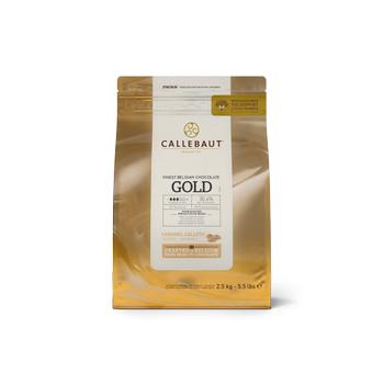 Callebaut Gold Karamelli Damla Çikolata 2,5 kg