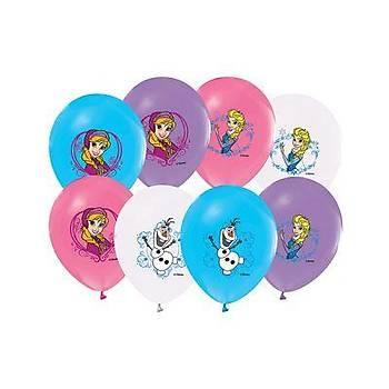 Frozen Baskýlý Latex  Balon 5ad