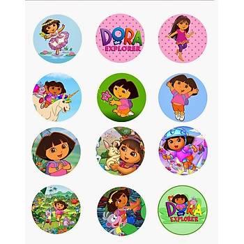 Dora  Cupcake ve Kurabiye  Baský