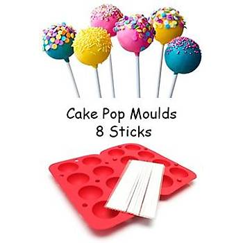 Cake Pop Moulds 8 Sticks