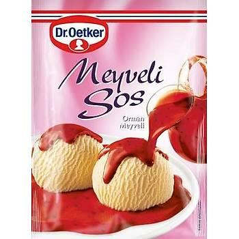 DrOetker Meyveli Tatlý Sos