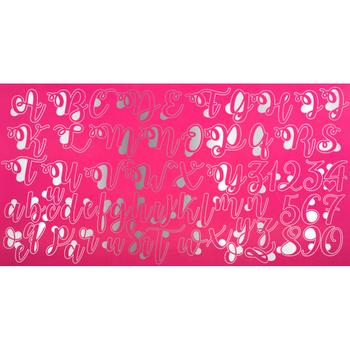 Kurabiye Plakasi, Kalligrafi, Seker Hamuru Baski Seti