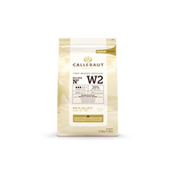 Callebaut Beyaz Pul Çikolata 2,5KG %28