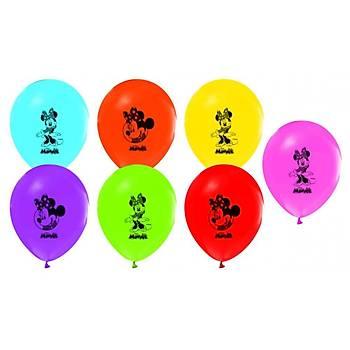 Minnie Baskýlý Latex Balon 5ad