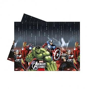 Avengers  Plastik  Masaörtüsü