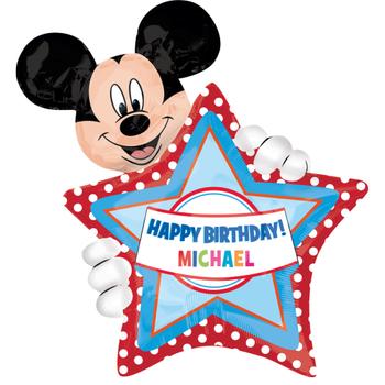 Mickey Mouse Kiþiye Özel Folyo Balon