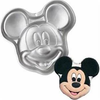 Mickey Mouse Pasta Kalýbý 3 Boyutlu