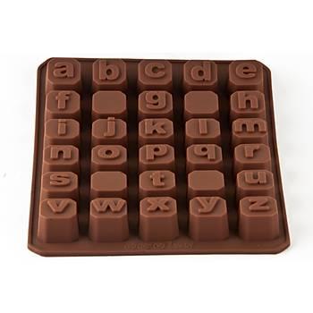 Küçük Küp Alfabe Çikolata Kalýbý