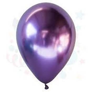 Mor Krom Balon 5Adet