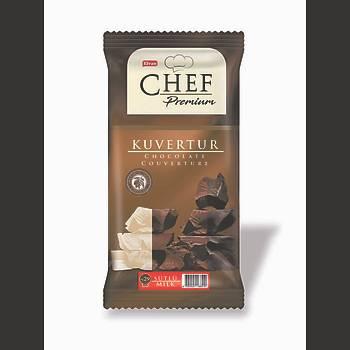 Chef Premium Sütlü Mini Kuvertür 200 Gr