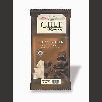 Chef Premium Beyaz Mini Kuvertür 200 Gr