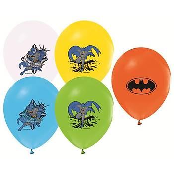 Batman Baskýlý Latex Balon 5ad