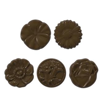Desenli Madlen Çikolata Kalýbý