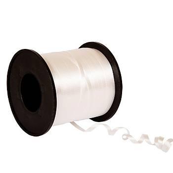 Beyaz Renk Rafya 8 mm x 200 metre
