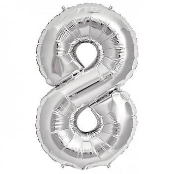 8 Yaþ Gümüþ Balon
