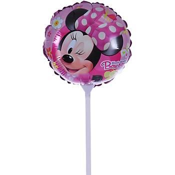 Minnie Mouse Kendin Þiþir Folyo Balon
