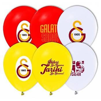 Galatasaray  Baskýlý Latex Balon 5ad