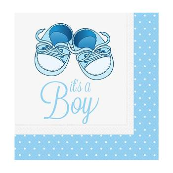 Mavi Patikler Erkek Peçete