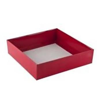 Kýrmýzý  Çerçeve Kutusu Karton Kutu  15x 12 x3 cm  5 adet