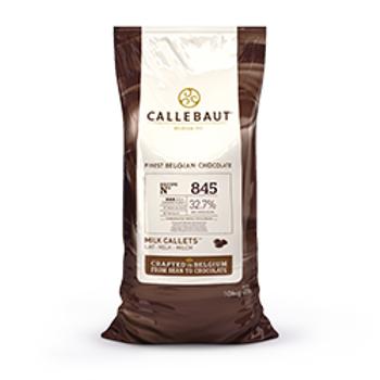 Callebaut Sütlü Drop Çikolata 10 kg %32,7 Kakao Oraný