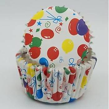 Renkli Balonlar  Desenli Yaðlý Kapsul 100 ad.