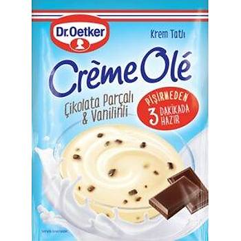 DrOetker Creme Ole Çikolata Parçalý & Vanilinli