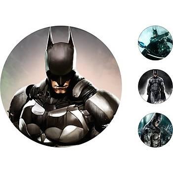 Batman Pasta Kurabiye Üstü Resim