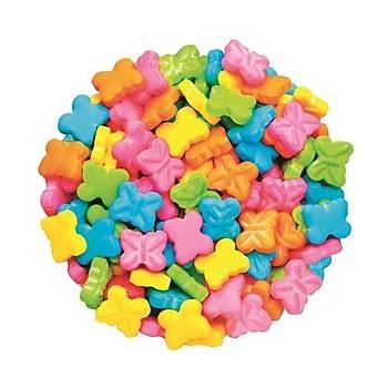 Renkli Kelebekler Sprinkles 40 gr.