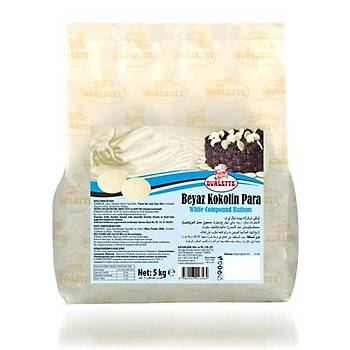 Ovalette Beyaz Kokolin Para 500 gr
