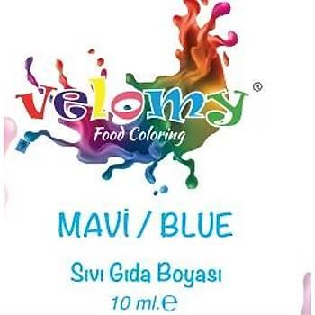 Velomy Mavi Gıda Boyası 10 ml